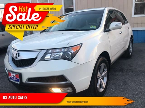 2011 Acura MDX for sale in Baltimore, MD