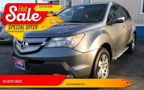 2009 Acura MDX for sale in Baltimore, MD