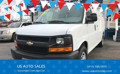 2013 Chevrolet Express Cargo for sale in Baltimore, MD