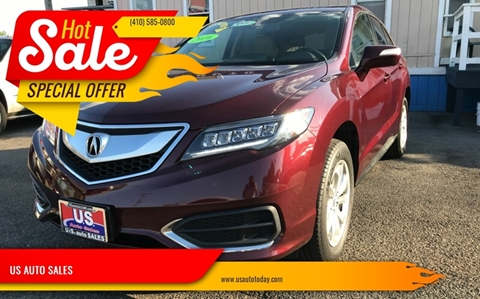 2016 Acura RDX for sale in Baltimore, MD