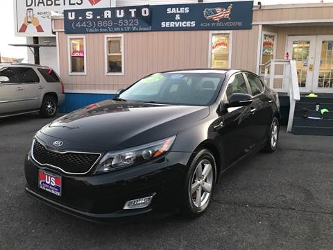 2015 Kia Optima for sale in Baltimore, MD
