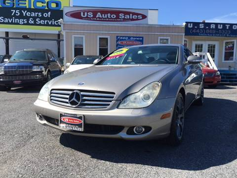 2006 Mercedes-Benz CLS for sale at US AUTO SALES in Baltimore MD