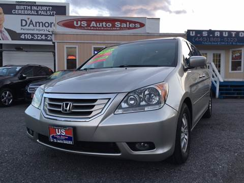 2008 Honda Odyssey for sale at US AUTO SALES in Baltimore MD