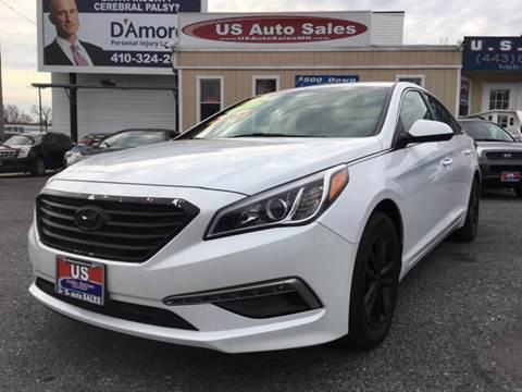 2015 Hyundai Sonata for sale at US AUTO SALES in Baltimore MD