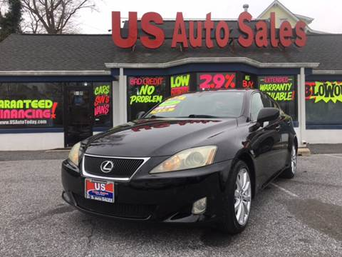 2007 Lexus IS 250 for sale at US AUTO SALES in Baltimore MD