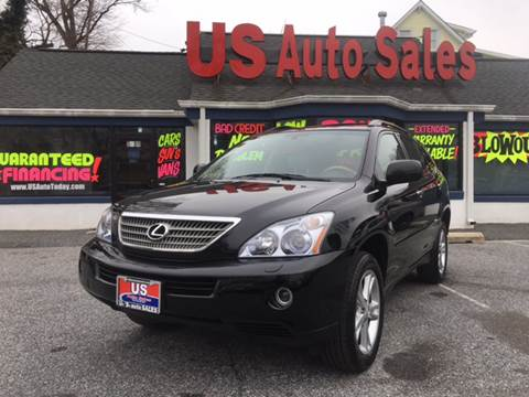 2008 Lexus RX 400h for sale at US AUTO SALES in Baltimore MD