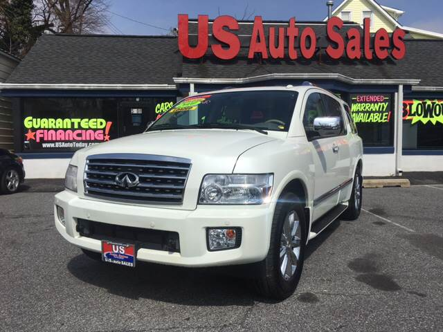 2010 Infiniti QX56 for sale at US AUTO SALES in Baltimore MD