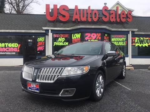 2010 Lincoln MKZ for sale at US AUTO SALES in Baltimore MD