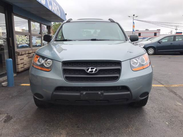 2009 Hyundai Santa Fe for sale at TRADEWINDS MOTOR CENTER LLC in Cleveland OH