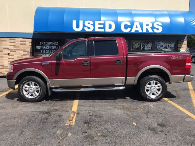 2004 Ford F-150 for sale at TRADEWINDS MOTOR CENTER LLC in Cleveland OH