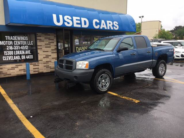 2006 Dodge Dakota for sale at TRADEWINDS MOTOR CENTER LLC in Cleveland OH