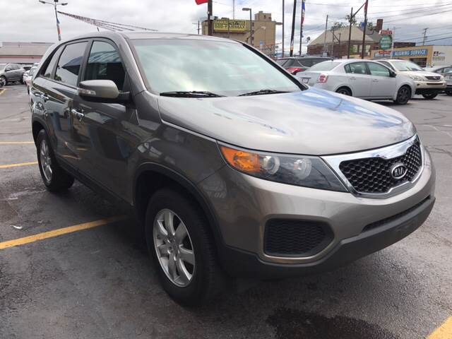 2011 Kia Sorento for sale at TRADEWINDS MOTOR CENTER LLC in Cleveland OH
