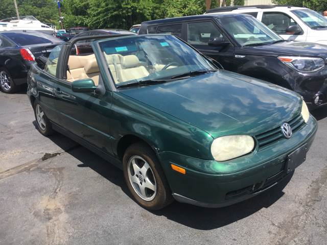 1999 Volkswagen Cabrio for sale at TRADEWINDS MOTOR CENTER LLC in Cleveland OH