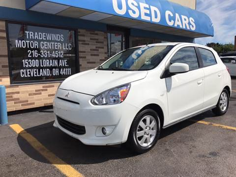 2014 mitsubishi mirage for sale in cleveland oh