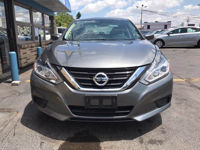 2016 Nissan Altima for sale at TRADEWINDS MOTOR CENTER LLC in Cleveland OH