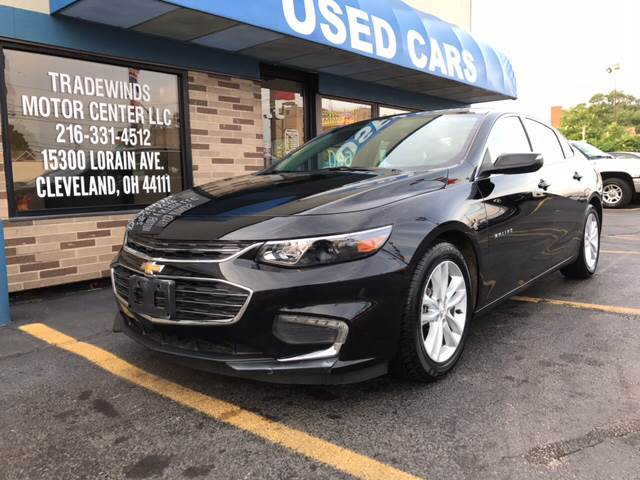 2017 Chevrolet Malibu for sale at TRADEWINDS MOTOR CENTER LLC in Cleveland OH