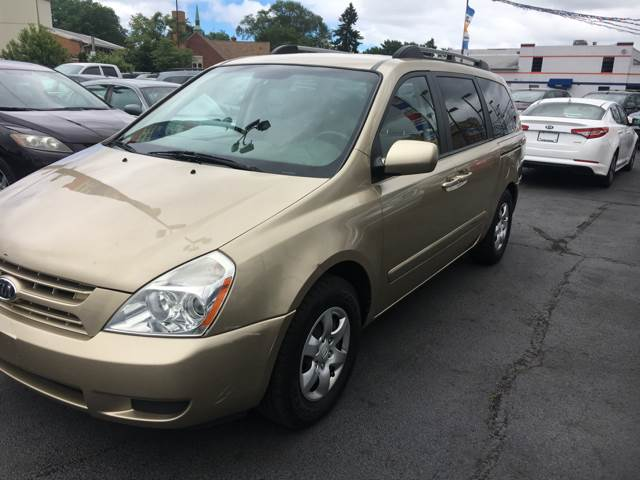 2008 Kia Sedona for sale at TRADEWINDS MOTOR CENTER LLC in Cleveland OH