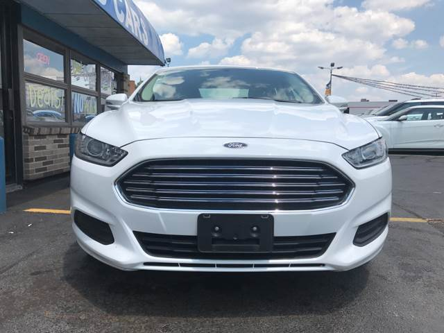 2014 Ford Fusion for sale at TRADEWINDS MOTOR CENTER LLC in Cleveland OH