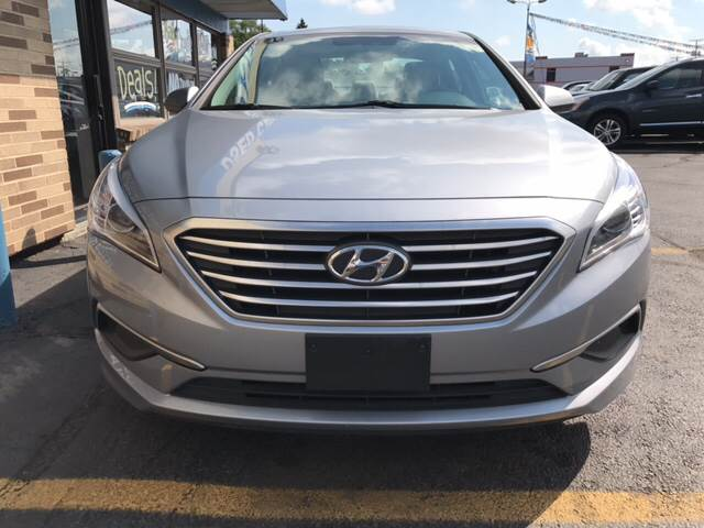 2017 Hyundai Sonata for sale at TRADEWINDS MOTOR CENTER LLC in Cleveland OH