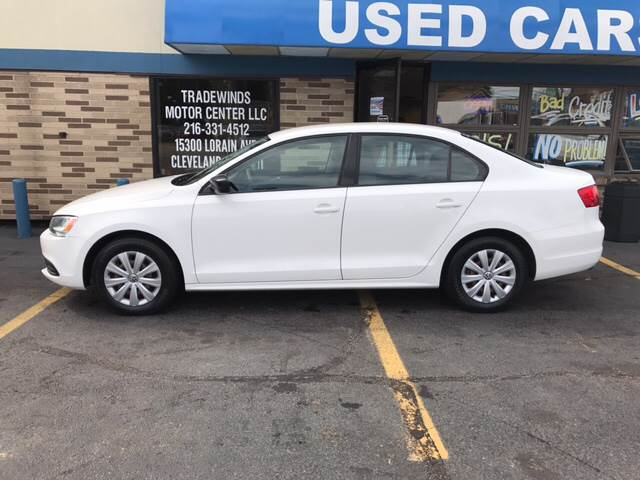 2012 Volkswagen Jetta for sale at TRADEWINDS MOTOR CENTER LLC in Cleveland OH