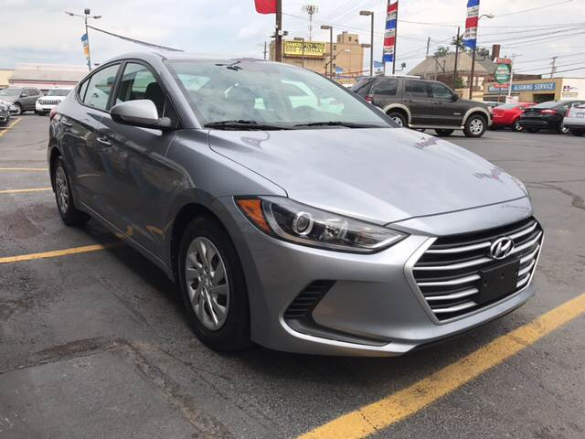 2017 Hyundai Elantra for sale at TRADEWINDS MOTOR CENTER LLC in Cleveland OH