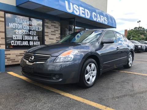 2008 Nissan Altima for sale at TRADEWINDS MOTOR CENTER LLC in Cleveland OH