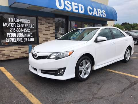 2013 Toyota Camry for sale at TRADEWINDS MOTOR CENTER LLC in Cleveland OH