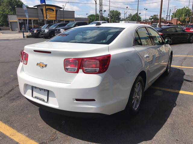 2013 Chevrolet Malibu for sale at TRADEWINDS MOTOR CENTER LLC in Cleveland OH