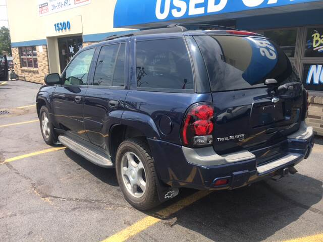 2007 Chevrolet TrailBlazer for sale at TRADEWINDS MOTOR CENTER LLC in Cleveland OH