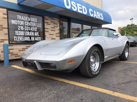 1976 Chevrolet Corvette for sale at TRADEWINDS MOTOR CENTER LLC in Cleveland OH