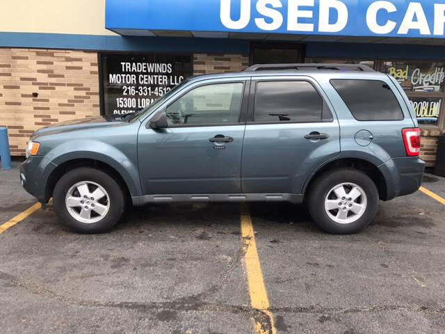 2010 Ford Escape for sale at TRADEWINDS MOTOR CENTER LLC in Cleveland OH