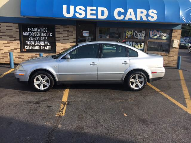 2004 Volkswagen Passat for sale at TRADEWINDS MOTOR CENTER LLC in Cleveland OH