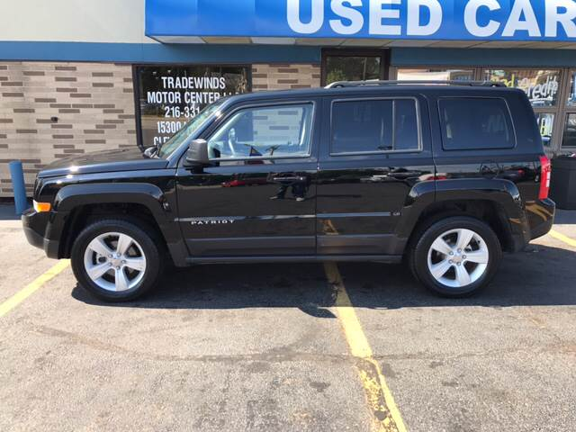 2017 Jeep Patriot for sale at TRADEWINDS MOTOR CENTER LLC in Cleveland OH