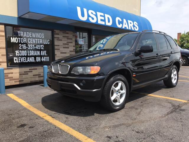 2002 BMW X5 for sale at TRADEWINDS MOTOR CENTER LLC in Cleveland OH