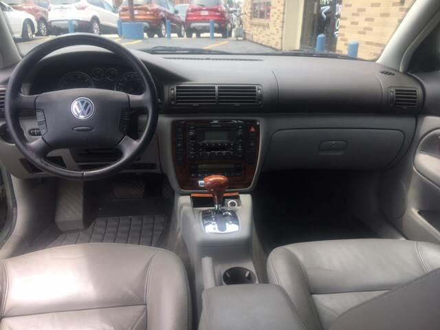 2002 Volkswagen Passat for sale at TRADEWINDS MOTOR CENTER LLC in Cleveland OH