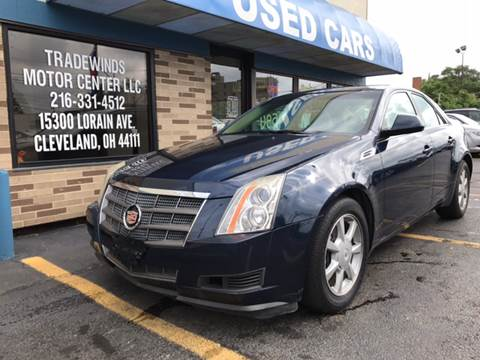 2008 Cadillac CTS for sale at TRADEWINDS MOTOR CENTER LLC in Cleveland OH