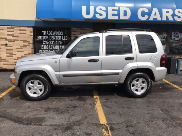 2007 Jeep Liberty for sale at TRADEWINDS MOTOR CENTER LLC in Cleveland OH