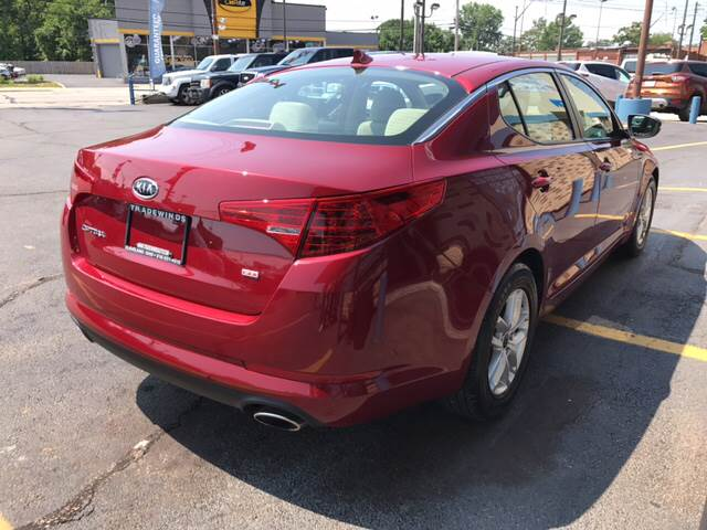 2011 Kia Optima for sale at TRADEWINDS MOTOR CENTER LLC in Cleveland OH