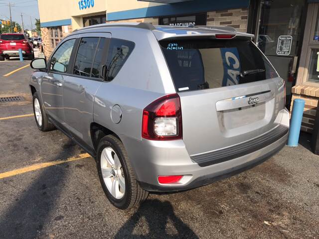 2016 Jeep Compass for sale at TRADEWINDS MOTOR CENTER LLC in Cleveland OH