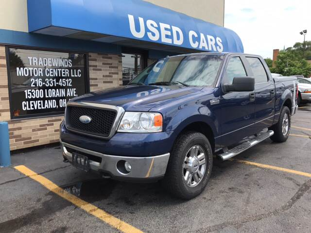 2007 Ford F-150 for sale at TRADEWINDS MOTOR CENTER LLC in Cleveland OH