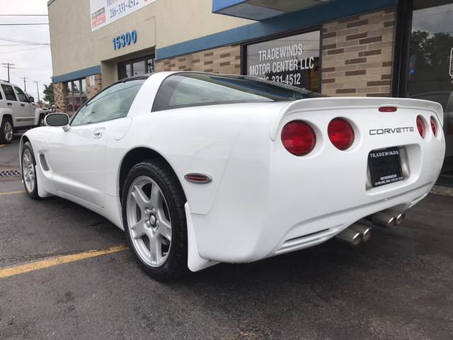 1999 Chevrolet Corvette for sale at TRADEWINDS MOTOR CENTER LLC in Cleveland OH