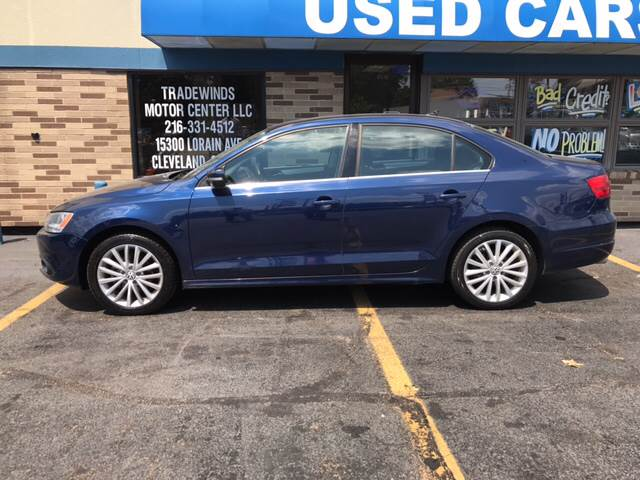 2011 Volkswagen Jetta for sale at TRADEWINDS MOTOR CENTER LLC in Cleveland OH