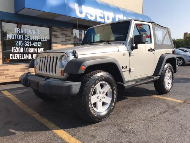 2007 Jeep Wrangler for sale at TRADEWINDS MOTOR CENTER LLC in Cleveland OH