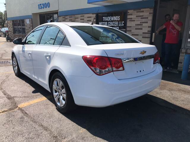 2012 Chevrolet Cruze for sale at TRADEWINDS MOTOR CENTER LLC in Cleveland OH
