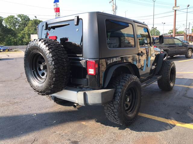 2008 Jeep Wrangler for sale at TRADEWINDS MOTOR CENTER LLC in Cleveland OH