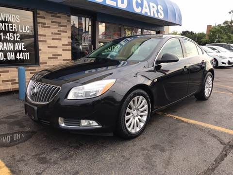 2011 Buick Regal for sale at TRADEWINDS MOTOR CENTER LLC in Cleveland OH
