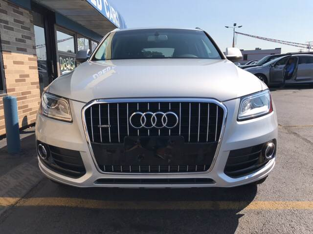 2013 Audi Q5 Hybrid for sale at TRADEWINDS MOTOR CENTER LLC in Cleveland OH