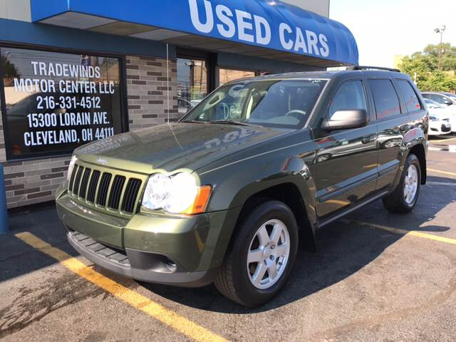 2008 Jeep Grand Cherokee for sale at TRADEWINDS MOTOR CENTER LLC in Cleveland OH