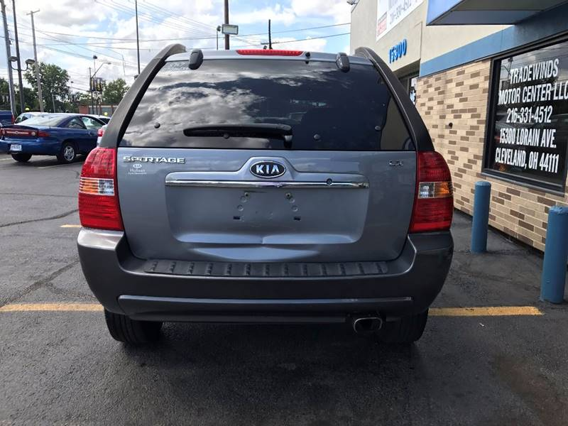 2007 Kia Sportage for sale at TRADEWINDS MOTOR CENTER LLC in Cleveland OH