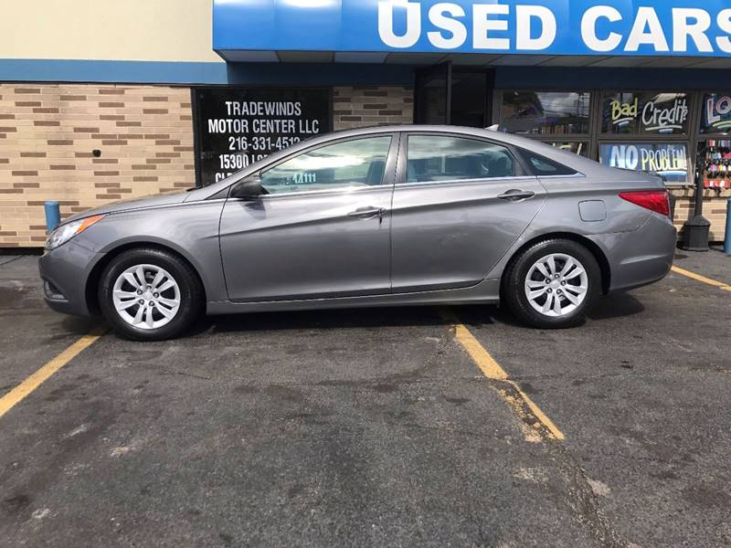 2011 Hyundai Sonata for sale at TRADEWINDS MOTOR CENTER LLC in Cleveland OH